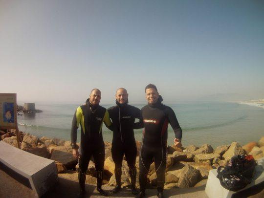 bautizo simple de mar, buceo en tarifa, buceo en barbate
