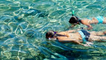 snorkel, snorkel en Zahara de los Atunes